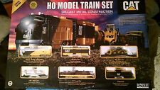 NORSCOT Caterpillar HO Scale Train Set Limited Edition #226 of 5500 New MIOB
