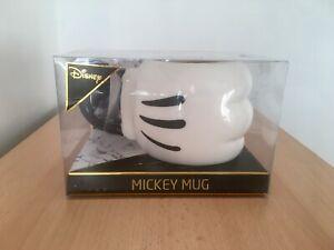 Disney 3d Mickey Mouse Glove Tea/Coffee Mug/Cup Hand Boxed primark