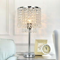 Crystal Table Lamp Elegant Decorative Desk Lamp With Crystal Shade USA