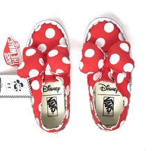 Vans Authentic Gore Disney Minnie Mouse Bow Minnie's Girls 12.5 Skate Shoes Kids