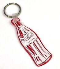 Coca-Cola USA vintage Catena chiave Key Chain Coca Cola Bottiglia rosso
