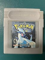 Pokemon Silver Version (Game Boy Color, 2000) Authentic & Tested - CLEAN + SAVES