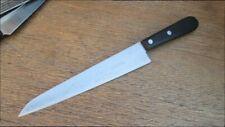 CUSTOM Vintage Dexter Carbon Steel Gyuto Chef Knife - Large, Light, RAZOR SHARP