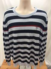 Mens BEN SHERMAN Black & White Striped Jumper Size XL FORHIM A1