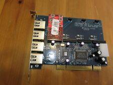 Digium FRESHMAKER TDM400P 4 port TDM To PCI PBX Card . Revision H ASTERISK VOIP
