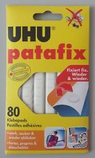 UHU PATAFIX weiß * 80 Klebepads * stark sauber wiederablösbar wiederverwendbar