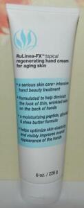 SERIOUS SKIN CARE RuLinea-FX Topical Regenerating Hand Cream 8 OZ FULL SIZE