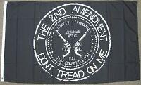 THE 2ND AMENDMENT DONT TREAD ON ME FLAG 3X5 FEET GUN RIGHTS 3'X5' NEW F1116