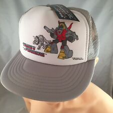 G1 Transformers 1986 SNAPBACK Vintage Hat Cap Kids Youth NWT NEW NOS