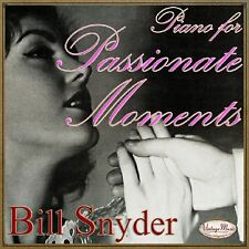BILLY SNYDER CD Vintage Dance Orchestra / Piano For Passionate Moments , Lounge