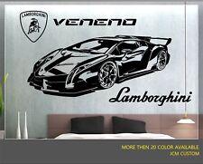 Lamborghini Veneno LR 750-4 Racing Sport Car Removable Wall Vinyl Decal