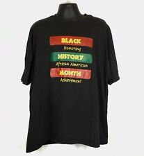 Black History Month T-shirt Hanes Beefy-tee Tag Size 3XL Excellent Condition