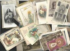 100 Holy card antiques de la Virgin santino image pieuse andachtsbild estampas