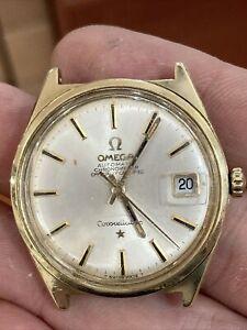 1960s Omega Constellation Automatic Chronometer Date Men's Watch Runs 34mm