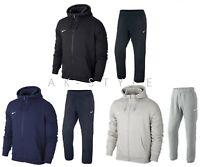 Mens Nike Full Zip Tracksuit Club Fleece Full Zip Hoody Jogging Bottoms-S M L XL