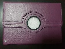 iPad Air 1 Purple Case Cover PU-Leather 360 Rotating Cases
