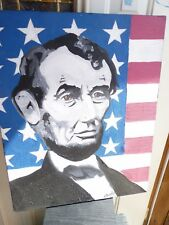 Abraham Lincoln oil painting by Marcelo