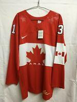 NIKE TEAM CANADA 2014 OLYMPICS CAREY PRICE JERSEY (XL)