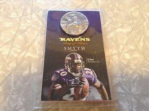 Ed Reed ring of honor smyth jeweler commemorative coin