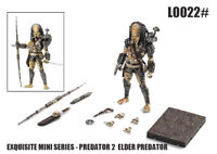 Hiya Toys Exquisite Mini Predator 2 Elder Predator 1/18 Action Figure IN STOCK