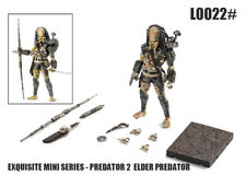 Hiya Toys Exquisite Mini Predator 2 Elder Predator 1/18 Action Figure IN STOCK