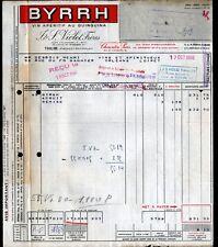"""THUIR (66) VIN APERITIF / LIQUEUR """"BYRRH / J. & S. VIOLET Freres"""" en 1960"""