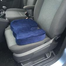 Giro Azul, Soporte cóccix y Trasero presión aliviar de espuma de memoria cojín del asiento de coche