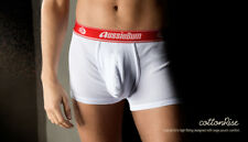 Aussiebum Ropa Interior cottonrise Rojo Grande (L) Gimnasio Interés Gay Hombre Boxers Poss