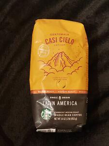 Starbucks Guatemala Casi Cielo Whole Bean Coffee (1 LB) BB 03/2020