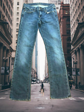 Old Navy Jeans juniors Size 1 Long The Flirt Low Rise Straight Leg Blue