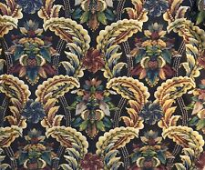 VINTAGE UPHOLSTERY DRAPERY COTTON FABRIC 2 YARDS +
