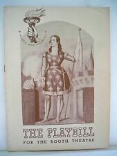 THE TWO MRS CARROLLS Playbill Autographed IRENE WORTH NYC 1943