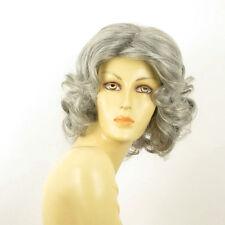 Perruque femme grise cheveux bouclées ref KAISSY 51