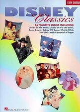 Disney Classics For Easy Guitar Learn to Play Film Movie Pop Music Book