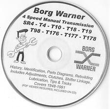 Borg Warner 4 Speed SR4 T4 T10 T18 T19 T98 T176 T177