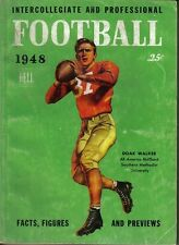 1948  Dell College & Pro Football Facts, Figures & Previews ~ Doak Walker, SMU