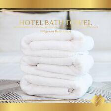 Luxury Hotel And Spa Bath Towel 100% Cotton High Quality Hotel Bath Towel White