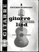 Gitarre zum Lied Band 1