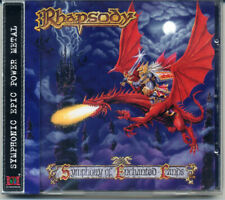 RHAPSODY Symphony Of Enchanted Lands NEW CD +OBI (Symphonic Power Metal) fire