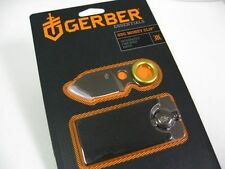 GERBER Titanium Coated GDC Money Clip + Compact Fine Edge Knife BRAND NEW