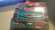 CHEVROLET PLAYING CARDS 2 DECKS AND TIN HOLDER NUMBERD LTD EDITION