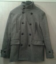 New H&M Grey Wool Blend Coat size 40R Gift