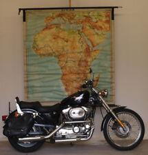 alte Schulwandkarte Afrika Africa 1959 162x172cm vintage school wall map poster