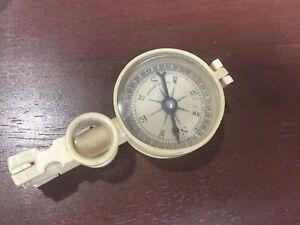 Antique German Celluloid Compass in original box