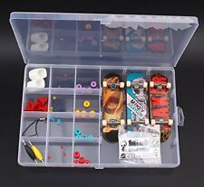 Boy DIY Fingerboard Toy with Nuts Trucks Tool Kit Basic Bearing Wheels Obstacles