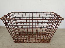 P3261 Austernkorb ~ Metallkorb ANTIK ~ Oyster basket ~ RARE