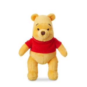 "Disney Store Winnie The Pooh Bear Plush Mini Bean Bag 7"" Christopher Robbin"