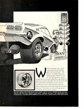 1973 CHEVROLET VEGA ~ ORIGINAL KEYSTONE WHEEL AD