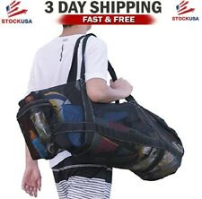 Xxl Mesh Dive Bag for Scuba, Snorkeling - Diving Snorkel Gear Bags, Extra Large