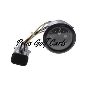 2008 - UP EZGO RXV GOLF CART STATE OF CHARGE BATTERY METER 48 VOLT PLUG AND PLAY